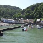 Lynmouth harbour.. tide in..