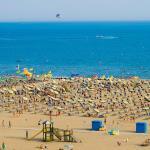 Bibione Spiaggia privata GOLF Hotel Bibione