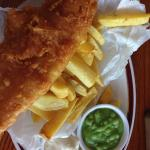 Cracking fish and chips