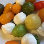 Mozzarella and heirlooms.