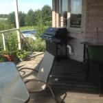 Deck, pool area
