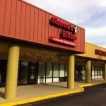 Sharma's is in a strip center, awesome food!