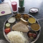 my thali and lassi