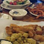 Friday catfish dinner