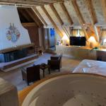 The Titlis Suite is a beautiful, spacious room