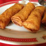Egg Rolls at the Restaurant