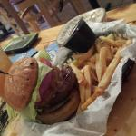 Burger was delicious..