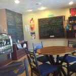 Cute coffee shop! Loved the chalkboard menus!!!