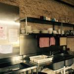 Hostel Kitchen