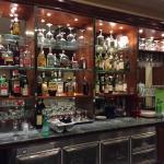 Bar nella sala ristorante