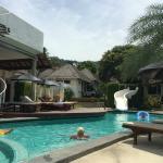 Aussicht vom Pool