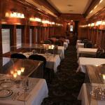 Restored dining car