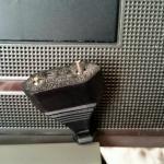Розетка ТВ в номере ( так и не починили не смотря на ежедневные просьбы