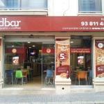 Entrada principal de Redpizza by redbar Sitges