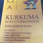 Kurkuma im Kulturbahnhof