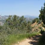 The Distant San Juan Mountains.