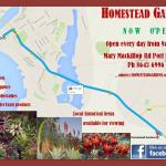 Directions and information about Homestead Gardens