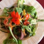 Délicieuse salade maison.
