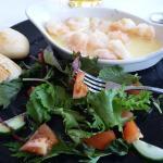 garlic & butter prawns!!!