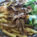assiette kebab..très bon!