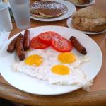 Eggs n sauasage