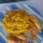 Paella de marisco riquisima