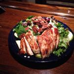 Capra e pera salad with chicken breast