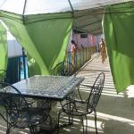 Terraza del Camping La capea