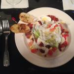 1/2 Wedge salad