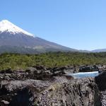 os vulcões sempre presentes na paisagem