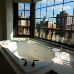 1705 - View of Empire State Building from Tub.