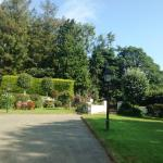 The garden area in front of the B&B