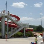 Waterslide at Sevierville Family Aquatic Center at Sevierville City Park