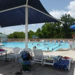 Cabanas & Pool at Sevierville Family Aquatic Center at Sevierville City Park