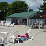 concession stand at Sevierville Family Aquatic Center at Sevierville City Park