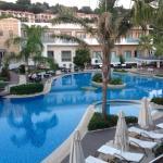 Lesante hotel pools