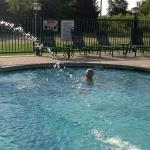 The great outdoor pool!
