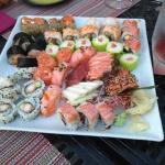 Quem diz que não gosta,  aconselho vir ao Kanpai sushi. Vão adorar como eu. Adorei