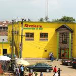 Il fastfood di Benin City center