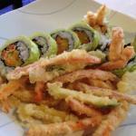 Veggie tempura roll!