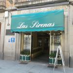 Segovia, España, Las Sirenas. Frontis del hotel.