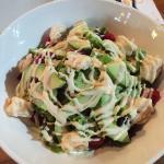 Shrimp avocado salad.
