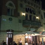Le Maschere at night.