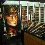 Tenda de maquiagem no corredor central do sambil