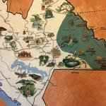 Mapa de Chiapas en Recepción