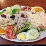 Tuna fish salad made by Lorenzo - enough to feed an army!