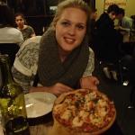 pizza aux crevette