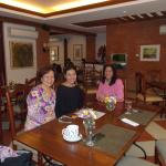 After breakfast (free) at the Cristobal Restaurant with my guests