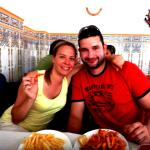 We enjoyed seafood