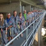 Bridgewalking - looking forward to the walk